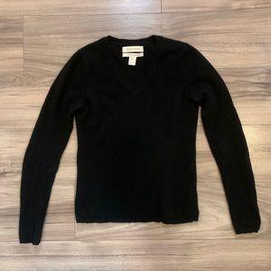 Ellen Tracy Cashmere V Neck Sweater